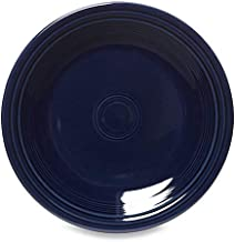 Dinner Plate in Cobalt Blue Chip-Resistant with a Brilliant Glaze Durable Ceramic