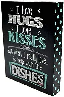 TOD INC I Love Hugs & Kisses Table Sign