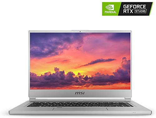 MSI P65 Creator-1084 15.6' 4K UHD Display, Ultra-Thin and Light, RTX Studio Laptop, Intel Core i7-9750H, GeForce RTX 2060, 32GB DDR4, 1TB Teton Glacier SSD, Win10PRO, VR Ready