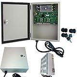 Urban Security Group 9 Port Outdoor PoE Network Switch : Full Gigabit 1,000Mbps : IP66 Weatherproof : (8) Power Over Ethernet IEEE802.3af + (1) Uplink RJ45 Ports : 125W : Business Grade