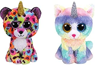 TY Beanie BOOS Set of 2 Giselle & Heather 6 INCH
