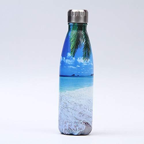 YYSD 179-202 Botella de Acero Inoxidable para Termo de Agua Taza aislada al vacío Vasos de Viaje de Doble Pared Frasco Deportivo Logotipo Personalizado