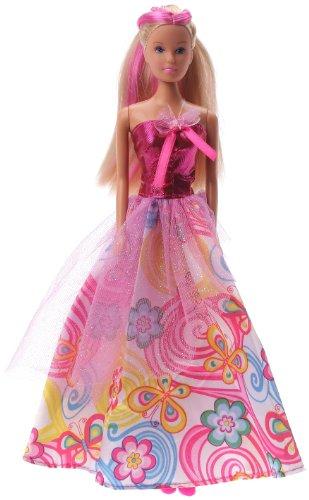 Simba - 5734903 - Poupée et Mini Poupée - Steffi Love - Butterfly Princesse - Robe Rose - 29 cm
