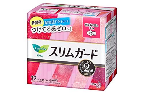 KAO laurier damska serwetka z okresu nr 1 gorący przedmiot w Japonii!!!! wygodna!! 19 arkuszy