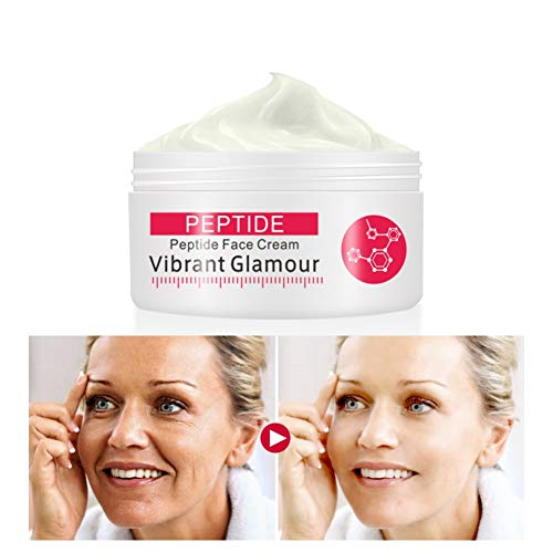 Symeas Peptide Face Cream Collagen Anti-rides crème raffermissante soin anti-âge blanchissant