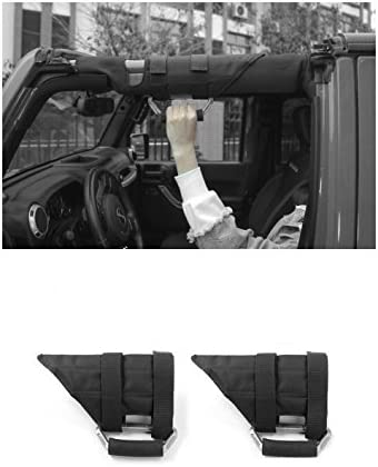 Niceautoitem 2Colors ABS+Oxford Industry No. 1 Car Fort Worth Mall Interior H Armrest Roof Grab