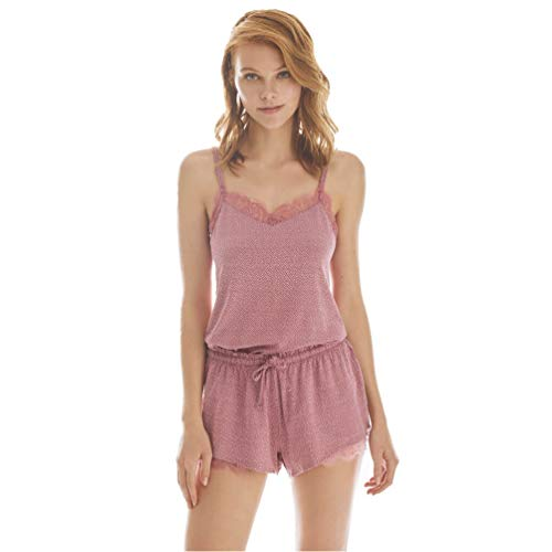 PROMISE Pijama Mujer de Entretiempo con Tirantes N08972 -