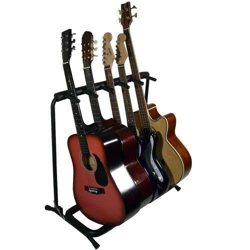 KANGA 05 - Supporto per 5 chitarre o bassi