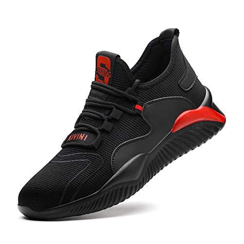 Nasogetch Zapatos de Seguridad Calzado de Protección para Hombre Mujer Zapatos de...