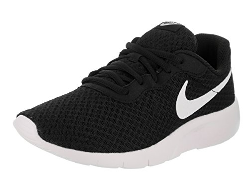 Nike Tanjun (GS), Walking Shoe Unisex-Child, Black/White-White, 36.5 EU