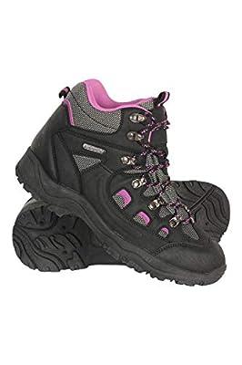 Mountain Warehouse Adventurer Womens Waterproof Hiking Boots Black Womens Shoe Size 9 US