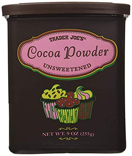Trader Joe's Cocoa Powder UNSWEETENED 9 oz (Pack of 4)