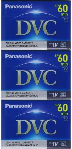 Discount is also underway 3 Mini DV MiniDV VIDEO TAPE CASSETTEs MV for Canon Super-cheap 800i