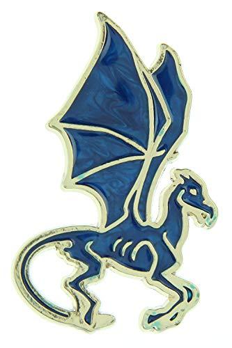 Harry Potter Wizarding World Thestral Broche Brooch Golden Enamel Pin