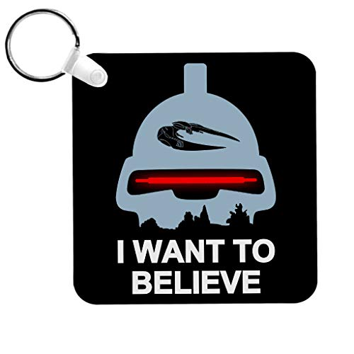 Cloud City 7 Believe In Toasters Battlestar Galactica Keyring