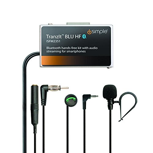 iSimple Hands-Free Calling and Music Streaming Kit with Control Button