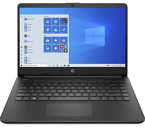 HP Stream 14s-fq0508sa 14' Laptop - AMD 3020e, 64 GB eMMC, Black