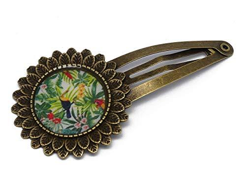 clip exótico resina latón verde multicolor bronce resina cabello pelo regalos personalizados navidad amigos cumpleaños invitados boda ceremonia pareja mujer mamá