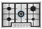 Electrolux EGS7536X - Placa de cocción a gas Slim Line, 75 cm