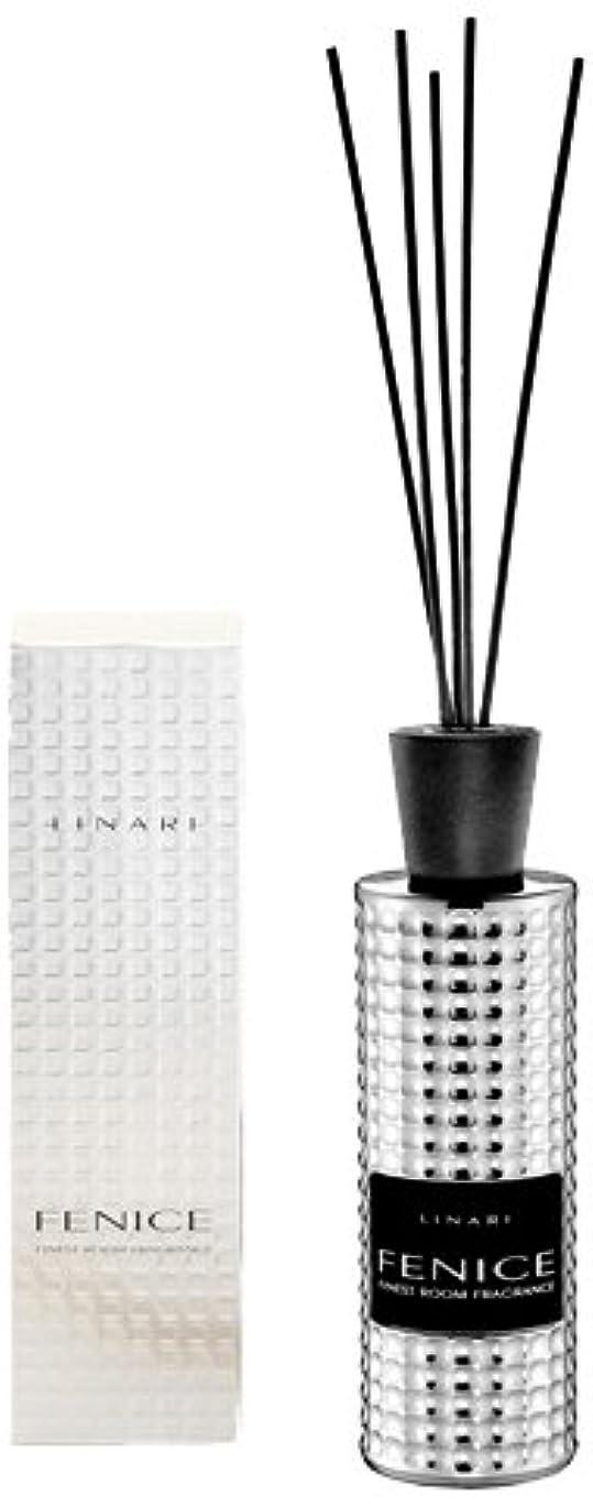 とティーム統計伝えるLINARI リナーリ ルームディフューザー 500ml FENICE フェニーチェ ブラックスティック black stick room diffuser