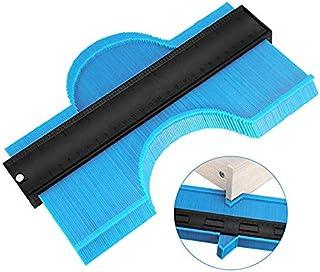 5 inch Multi-functio Contour Profile Gauge Tiling Laminate Tiles Edge Shaping Wood Measure Ruler ABS Contour Gauge Duplicator
