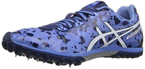 ASICS Women's Freak 2 Cross-Country Running Shoe, Powder Blue/White/Navy, 11 M US