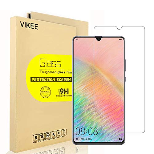 Price comparison product image [2-Pack] Huawei Mate 20 X Screen Protector,  VIKEE HD Clear Protector [Anti-Scratch] [Anti-Fingerprint] [No-Bubble] [Case-Friendly],  9H Hardness Tempered Glass Screen Film for Huawei Mate 20 X