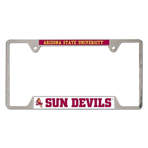 NCAA Arizona State University Metal License Plate Frame