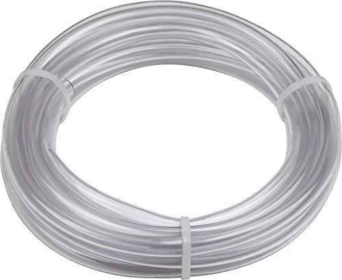 Meister PVC-Schlauch glasklar - 6 m x 10 mm - Ohne Gewebeeinlage - Zum Durchleiten von Luft & Flüssigkeiten - Für drucklose Anwendungen / Luftschlauch / Aquariumschlauch / 9920380