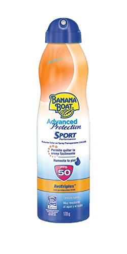 Banana Boat Advanced Protection Sport 50 Continuous Spray, 170 g