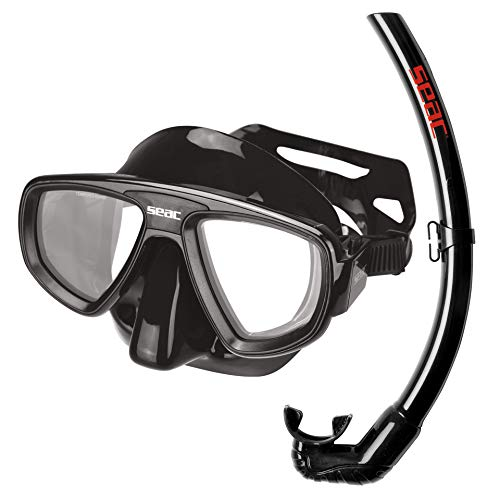 SEAC Set Extreme, Diving mask and Snorkel Set, Optical Lenses availables