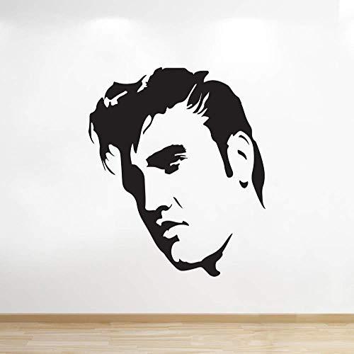 Wandaufkleber Elvis Presley Wandtattoos Kinder S Zimmer Schlafzimmer Wohnzimmer Wanddekoration Verzierung 57X57Cm
