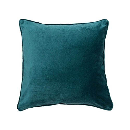 Amazon.com: Teal Velvet Pillow Cover, Velvet Pillow, Luxury