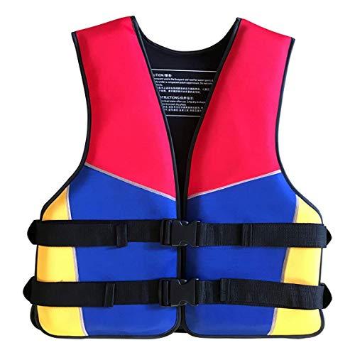 Gilet da bagno, Giubbotto di salvataggio portatile per adulti, Giubbotto di sicurezza per Pesca in Mare Unisex, Gilet da Sub in Tessuto Oxford Mimetico per Barca
