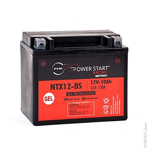 NX - Batería Moto Gel YTX12-BS / FTX12-BS / NTX12-BS 12V 10Ah
