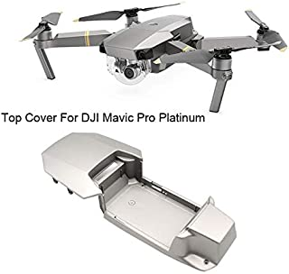 Ktyssp for DJI Mavic Pro Platinum Drone Upper Top Shell Body Case Repair Parts Accessories Professional