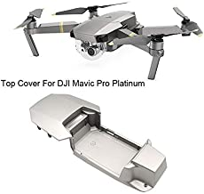 Ktyssp for DJI Mavic Pro Platinum Drone Upper Top Shell Body Case Repair Parts Accessories Professional
