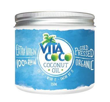 Vita Coco Organic Virgin Coconut Oil – Non GMO Cold Pressed Gluten Free Unrefined Oil –  250ml