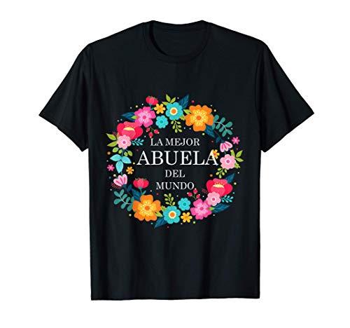 Dia de las Madres ABUELA Dia de Mama madre regalo gift T-Shirt
