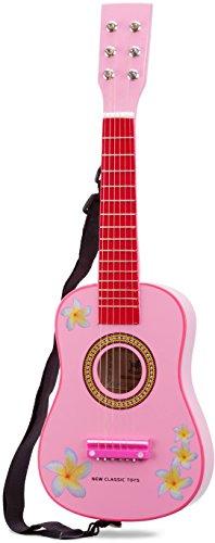 New Classic Toys Toys-10348 Guitarra para niños (NCT-0348) (Importado), Color Madera (