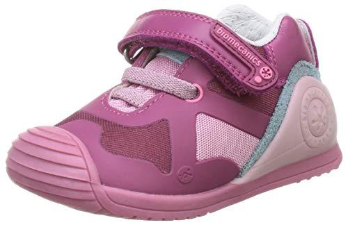Biomecanics Baby Mädchen 201133 Sneaker, Fuchsia (Grille), 23 EU