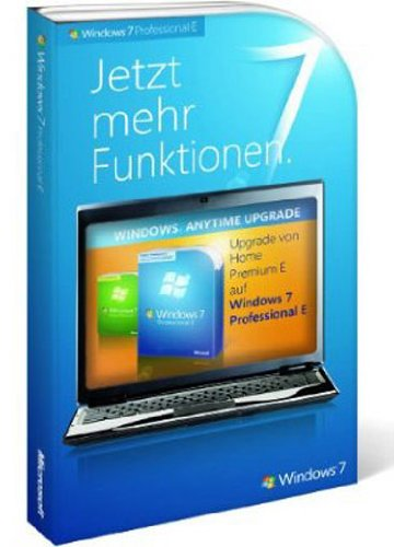 Windows 7 Anytime Upgrade - Home Premium auf Professional (Produktschlüssel)