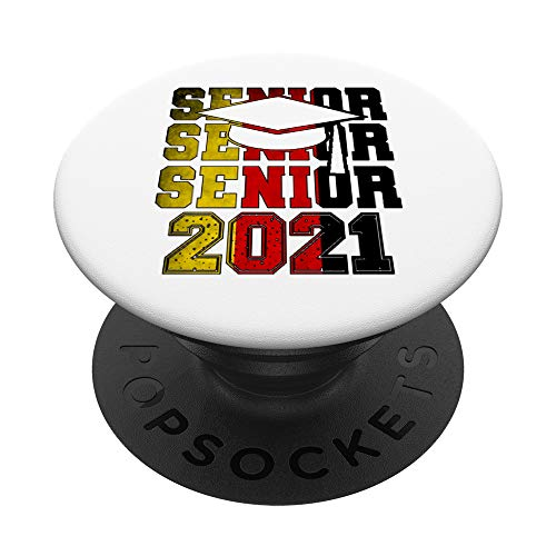 German Pride Gift Graduation 2021 Seniors Germany Flag PopSockets PopGrip: Swappable Grip for Phones & Tablets
