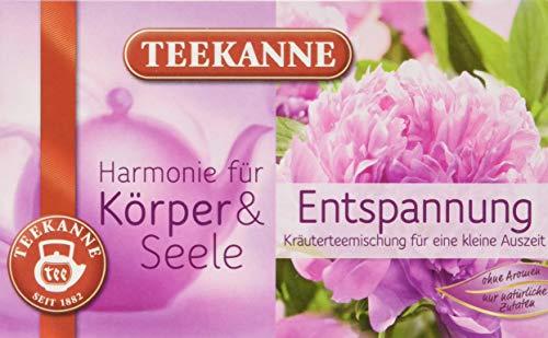 Teekanne Harmonie für Körper und Seele Entspannung, 10er Pack (10 x 40 g)
