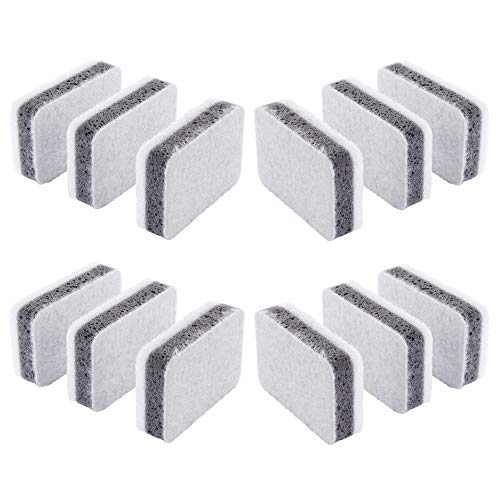 Ikea Svampig Spülschwämme, Weiß/Grau, 12 Stück
