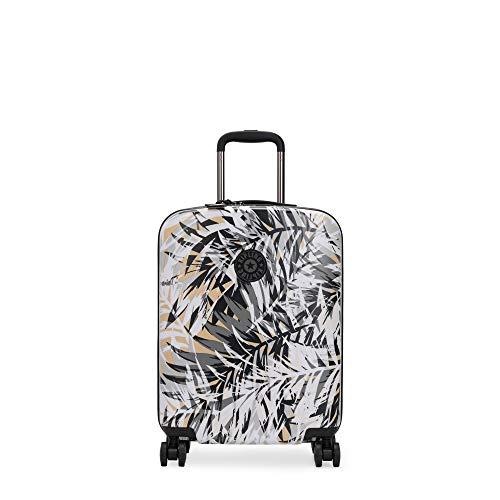 Kipling Curiosity Small Printed 4 Wheeled Rolling Luggage Urban Palm