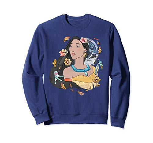 Disney Pocahontas Dreamcatcher Watercolor Graphic Sweatshirt