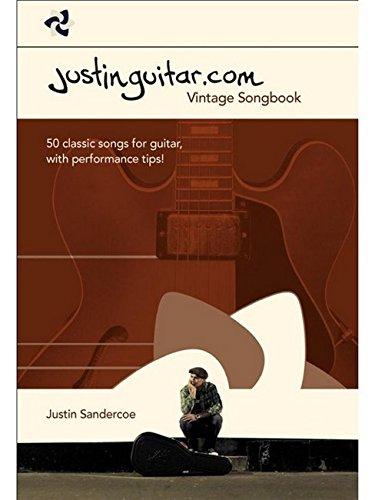 The Justinguitar.com Vintage Songbook: Songbook für Gitarre