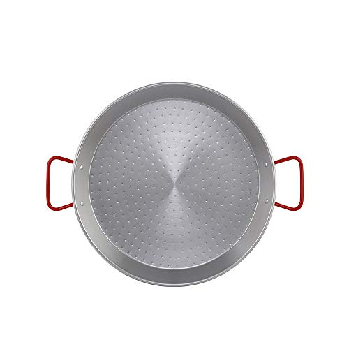 Metaltex - Paellera Acero Pulido 12 Raciones 46 cm