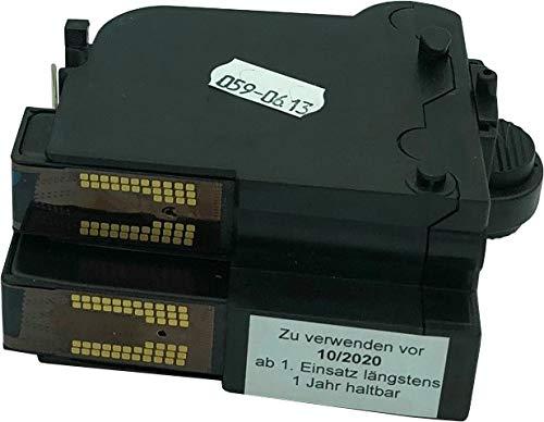 BBV-Domke Refill-Farbkassette passend für Frama Matrix F12 (blau) Frankierfarbe, wiederbefüllte Originalkassette, kein Nachbau